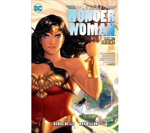 Legend of Wonder Woman : Origins -  (Wonder Woman) by Renae De Liz (Paperback) - image 1 of 1