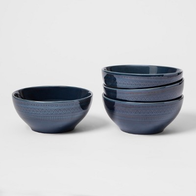 Kingsland Stoneware Soup Bowl 16oz Blue - Threshold™