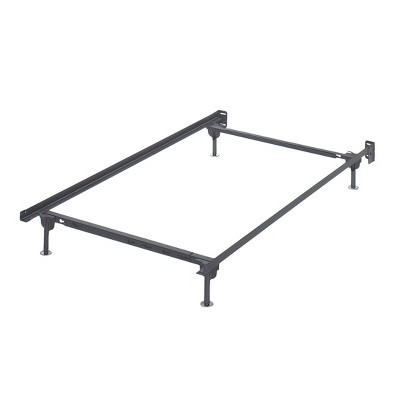 Frames and Rails Bolt on Bed Frame Metallic (Twin/Full)- Signature Design by Ashley