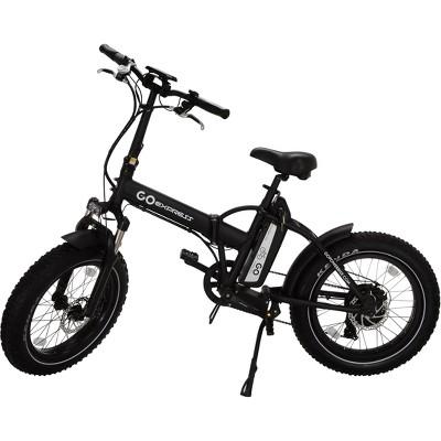 "Go Power Bike 20"" Go Express Electric Folding Bike - Black"