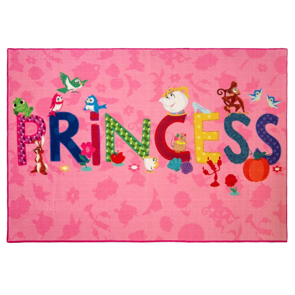 "Image of ""Disney Princess 4'6""""X6'6"""" Icons Rug"""