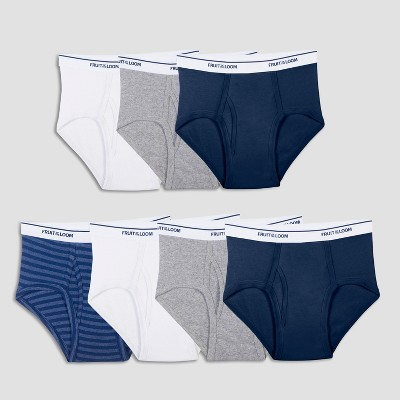 Fruit of the Loom Boys' 7pk Classic Briefs - Colors Vary