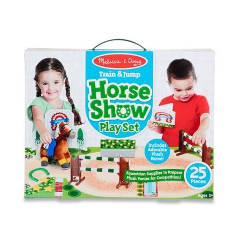 Melissa & Doug Horse Show Equestrian Playset 25pc - image 1 of 4