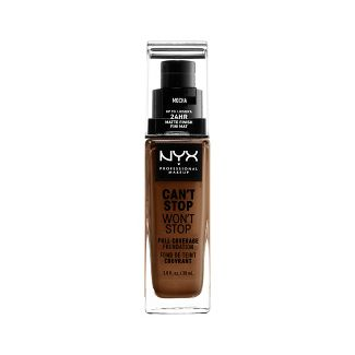 NYX Professional Makeup Can't Stop Won't Stop Full Coverage Foundation - Mocha - 1.3 fl oz