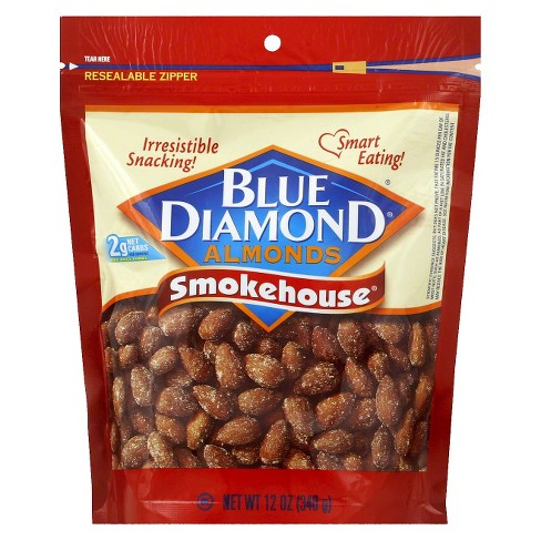 Blue Diamond Almonds Smokehouse - 12oz