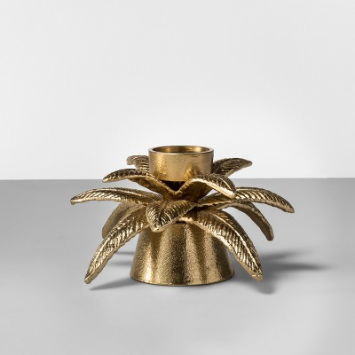 Palm Tealight Candle Holder - Gold - Opalhouse™