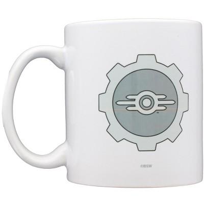 Just Funky Fallout Vault-Tec Logo Augmented Reality 11oz Ceramic Coffee Mug
