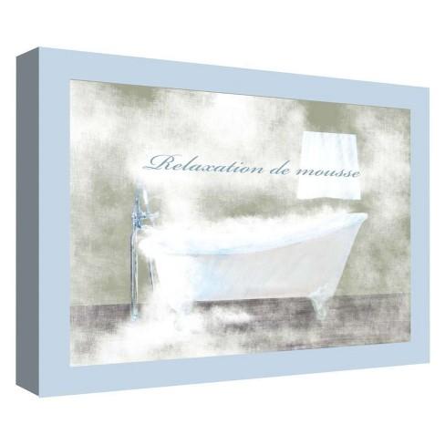 "Relaxation De Mousse Decorative Canvas Wall Art 11""x14"" - PTM Images - image 1 of 1"