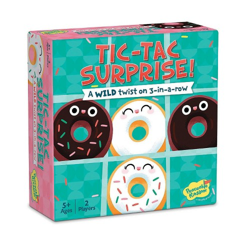 MindWare Tic Tac Surprise: Vanilla Vs. Chocolate Doughnuts - Early Learning - image 1 of 1
