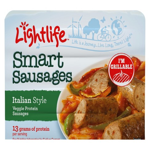 Lightlife Smart Sausages Italian Style - image 1 of 1