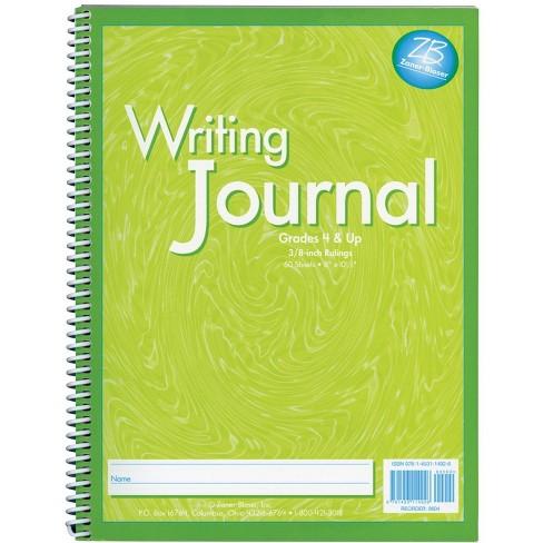 Zaner-Bloser My Writing Journal, Spiral Bound, 8 x 10-1/2 Inches, Liquid Green - image 1 of 1