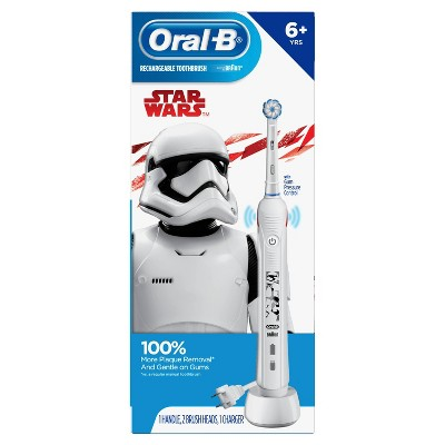 Oral-B Kid's Electric Toothbrush featuring Star Wars