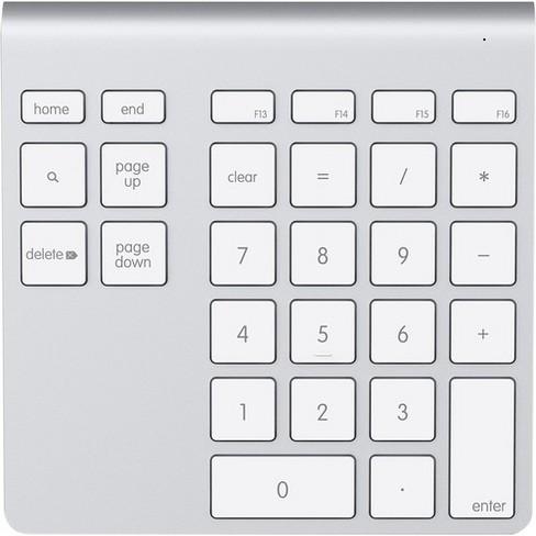 Belkin YourType Bluetooth Wireless Keypad - Wireless Connectivity - Bluetooth - 28 Key - Mac - image 1 of 1