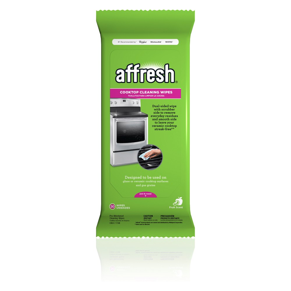 Affresh Cook Top Cleaning Wipes - 30ct, White