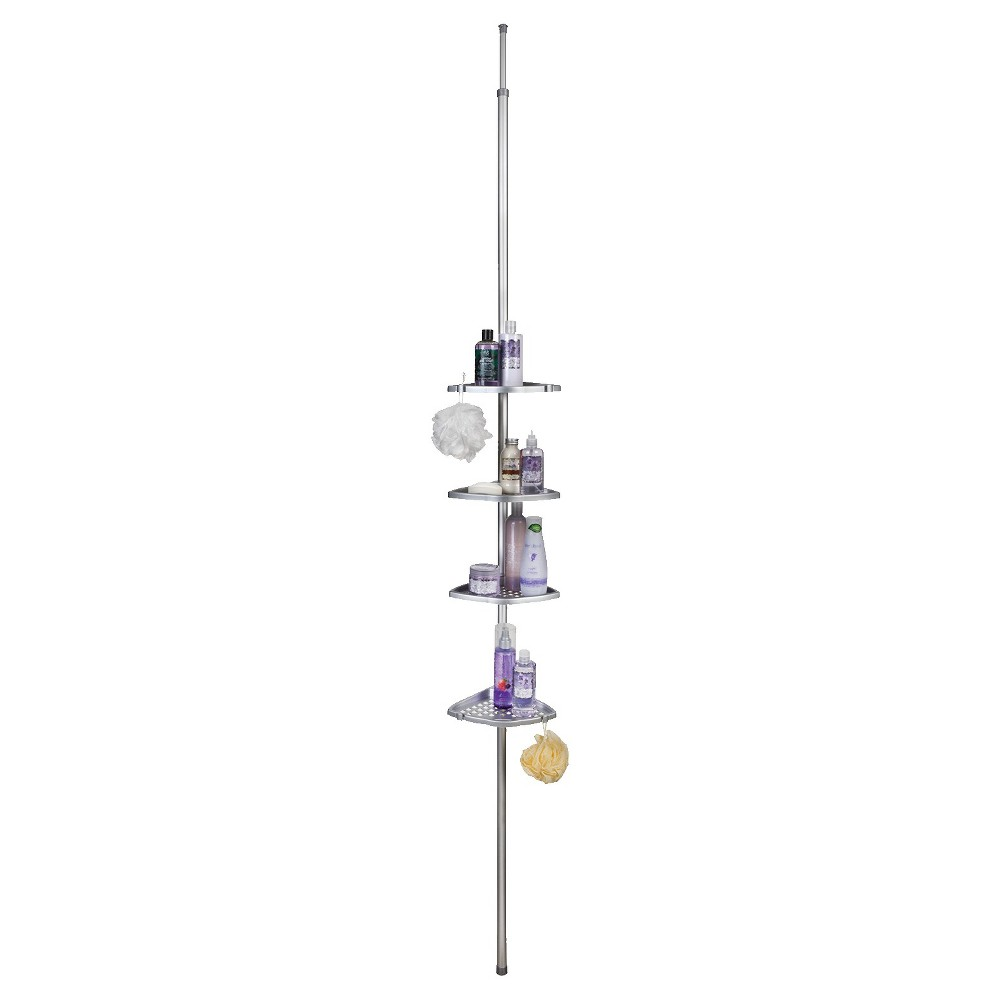 Ulti-Mate Shower Pole Satin Silver - Better Living Products