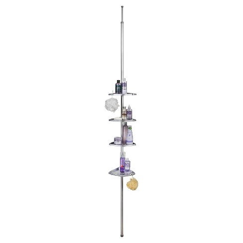 Ulti-Mate Shower Pole Satin Silver - Better Living Products - image 1 of 2