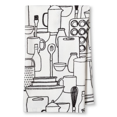 Black Kitchen Towel - Room Essentials™