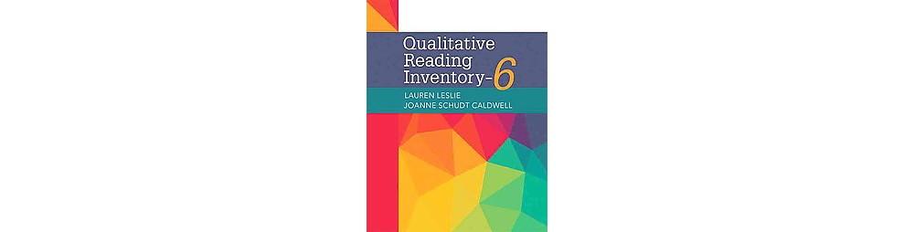 Pearson Education Qualitative Reading Inventory (Paperbac...