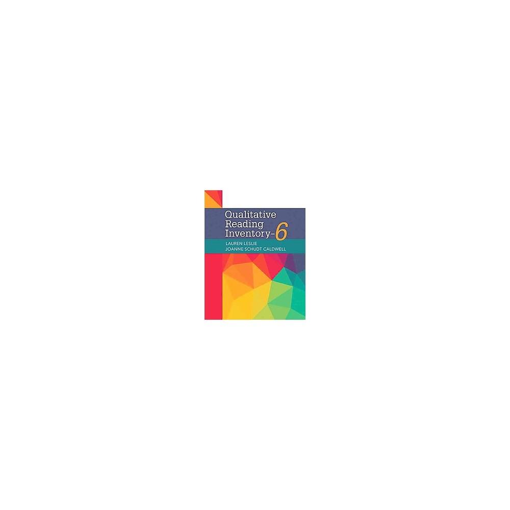 Qualitative Reading Inventory (Paperback) (Lauren Leslie & Joanne Schudt Caldwell)