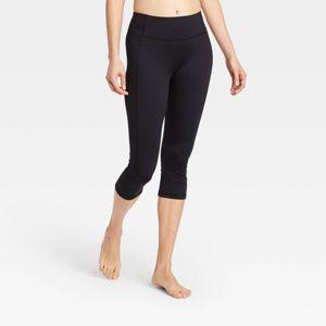 Women S Simplicity Mid Rise Capri Leggings 20 All In Motion Target