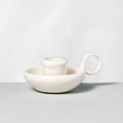 Taper Candle Holder Sour Cream - Hearth & Hand™ with Magnolia