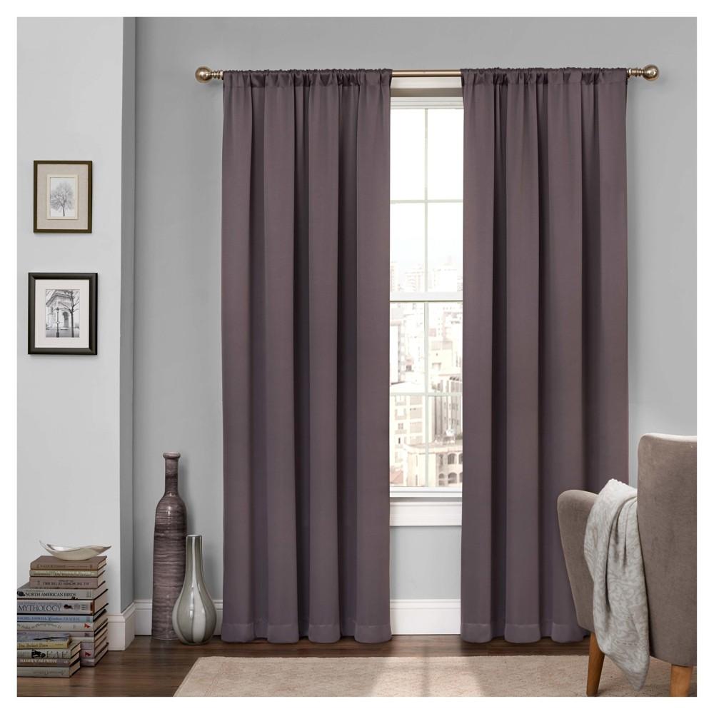 Tricia Room Darkening Curtain Grey (52