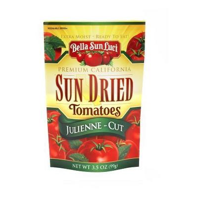 Bella Sun Luci Premium Sun Dried Julienne Cut Tomatoes - 3.5oz