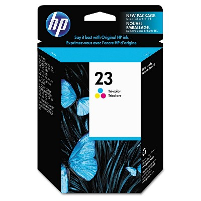 HP Inc. HP 23 (C1823D) Tri-color Original Ink Cartridge