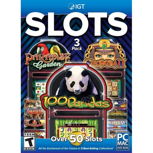 IGT Slots 3pk: 100 Pandas, Cleopatra and Paradise Garden - PC Games