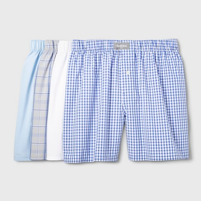 Men's Woven Boxer Shorts 4pk - Goodfellow & Co™