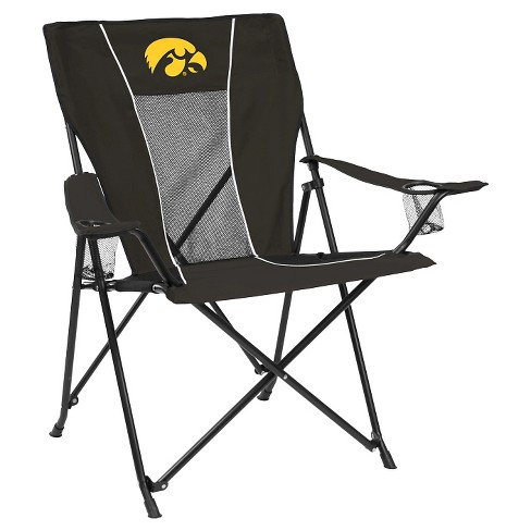 Miraculous Iowa Hawkeyes Game Time Folding Camp Chair Beatyapartments Chair Design Images Beatyapartmentscom