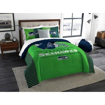 NFL Seattle Seahawks The Northwest Co. King Size Printed Comforter & Sham