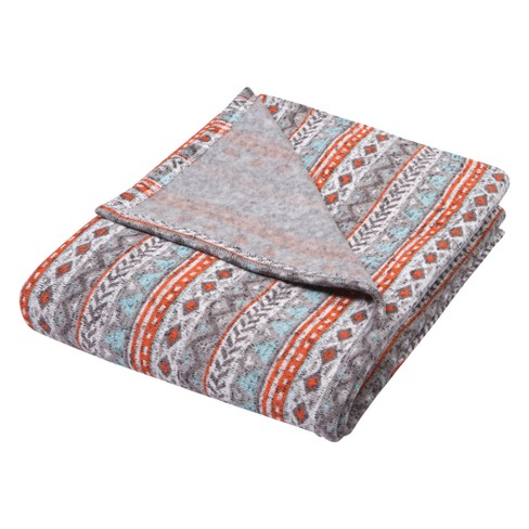 Trend Lab Sweatshirt Knit Baby Blanket - Gray - image 1 of 6