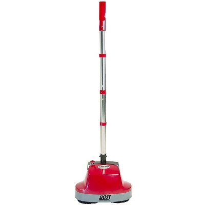 Boss Cleaning Equipment Gloss Boss, Mini Floor Scrubber and Polisher, For Carpets and Hard Floors