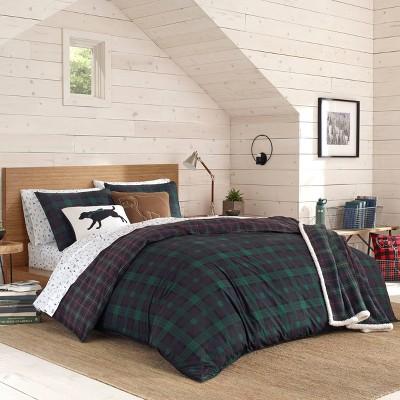 Eddie Bauer Woodland Tartan Comforter Set