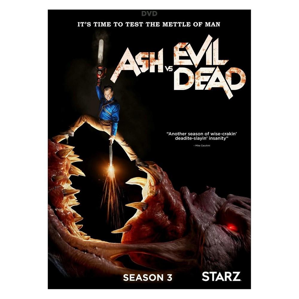 Ash Vs Evil Dead Season 3 Dvd