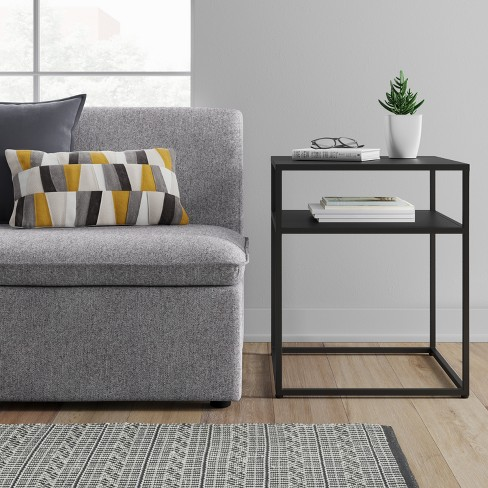 Glasgow Metal End Table Black - Project 62™ : Target