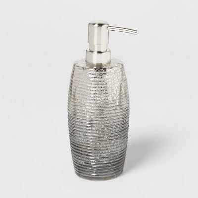 Mercury Glass Soap/Lotion Dispenser Silver - Opalhouse™