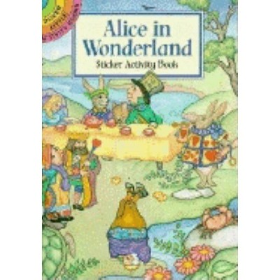 Alice in Wonderland Sticker Activity Book - (Dover Little Activity Books Stickers) by  Marty Noble (Paperback)