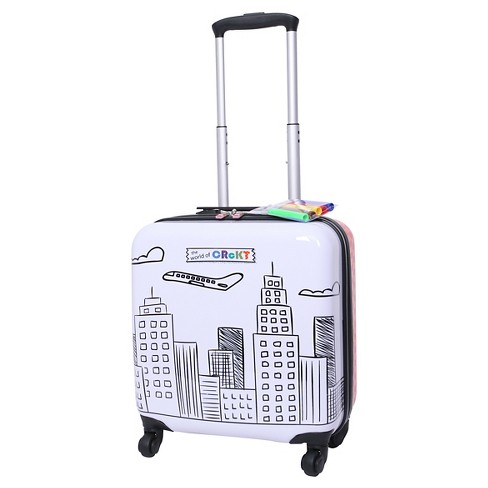 """Crckt 14"""" Hardside Spinner Carry On Suitcase - Drawable - image 1 of 4"""