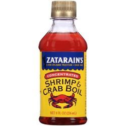 Zatarain's® Concentrated Shrimp & Crab Boil 8 Fl Oz