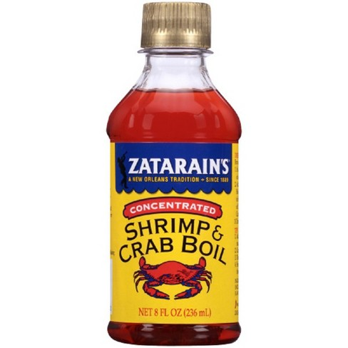 Zatarain's Concentrated Shrimp & Crab Boil 8 Fl Oz - image 1 of 3