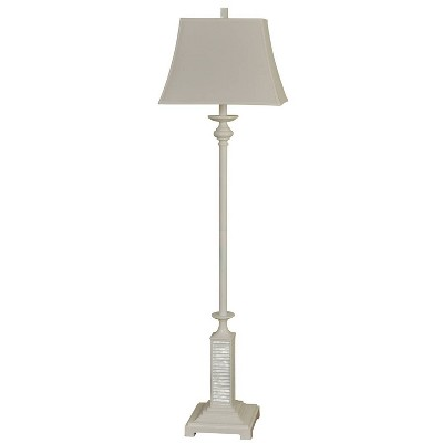 3-way Floor Lamp White - StyleCraft