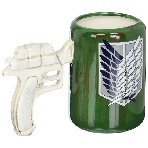 Surreal Entertainment Attack on Titan: 3D Maneuvering Gear Handle Molded Mug - image 1 of 2
