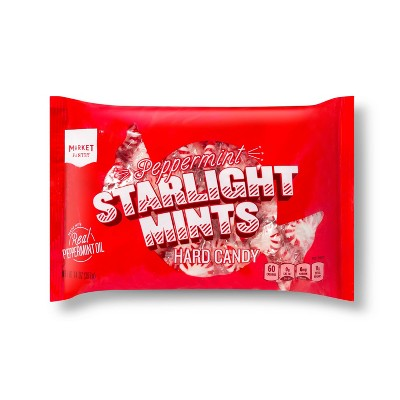 Peppermint Starlight Mints Hard Candies - 14oz - Market Pantry™