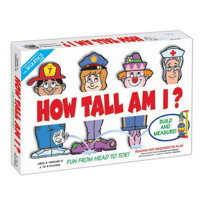 How Tall Am I? Game : Target