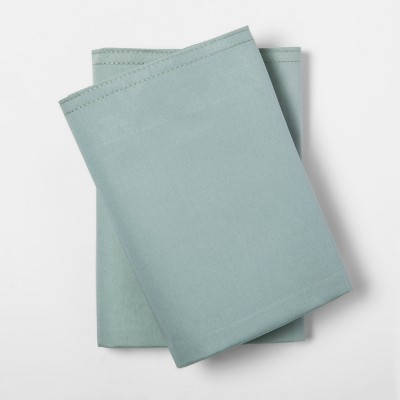 Pillowcases (Standard)Green 300 Thread Count - Project 62™