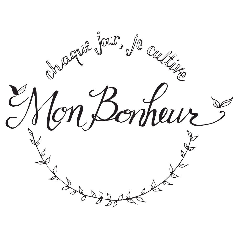Zone Dangereuse Wall Decal French - Red, Black