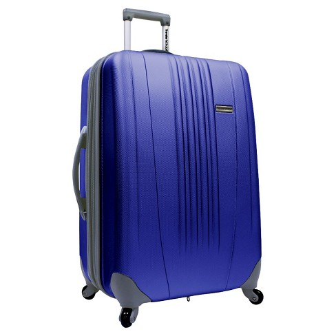 "Traveler's Choice Toronto 21"" Expandable Hardside Carry On Suitcase - Navy - image 1 of 1"