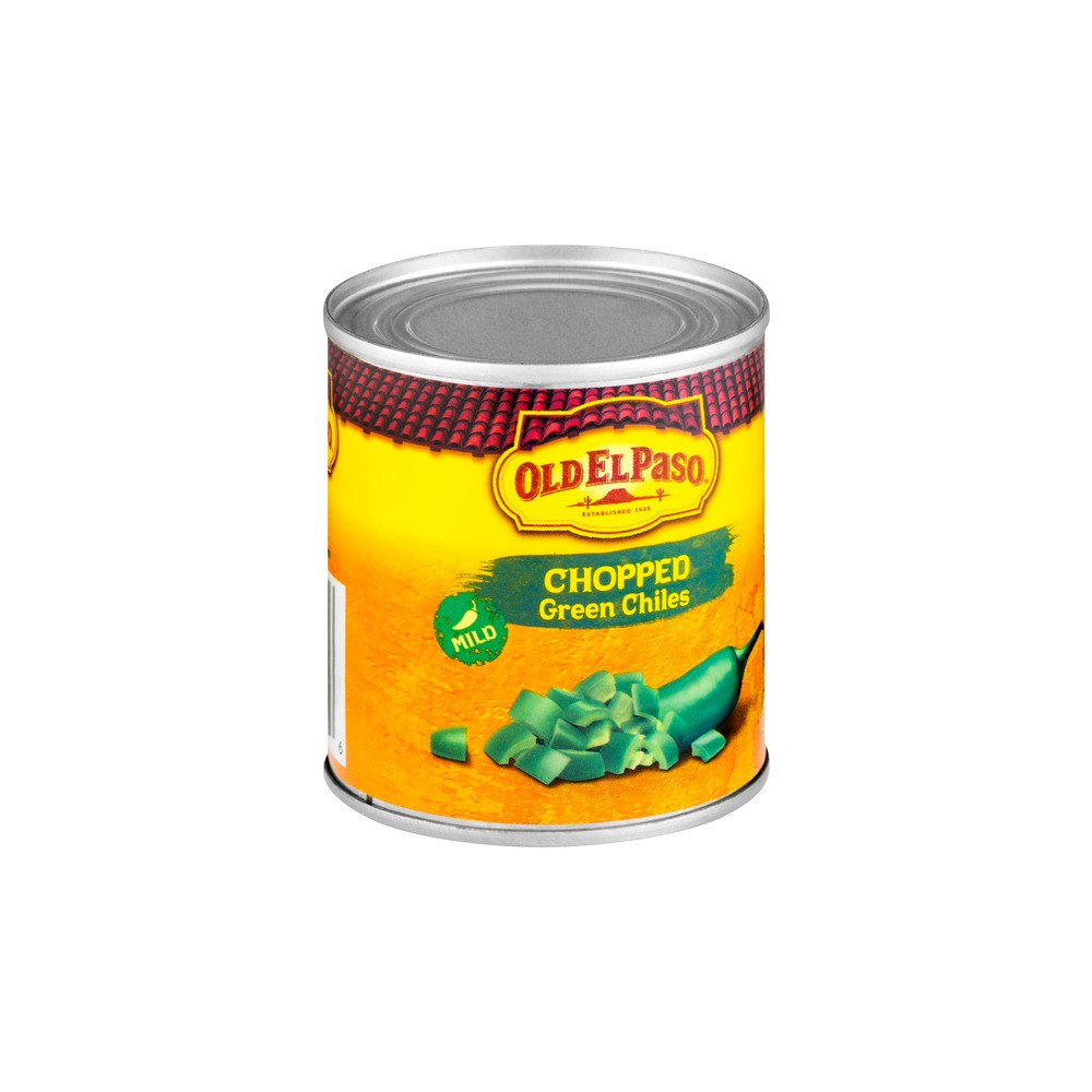Old El Paso Chopped Green Chiles 7 oz